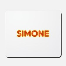 Simone in Movie Lights Mousepad