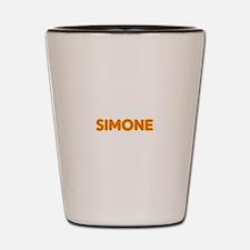 Simone in Movie Lights Shot Glass
