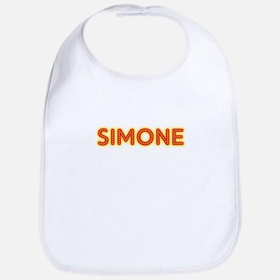 Simone in Movie Lights Bib