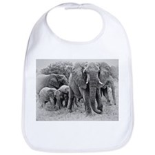 Elephants Bib