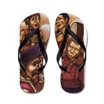 Pirate party Flip Flops