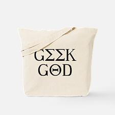 Geek God Tote Bag