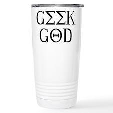 Geek God Travel Mug