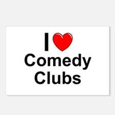 Comedy Clubs Postcards (Package of 8)