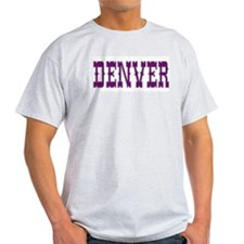 DENVER Ash Grey T-Shirt