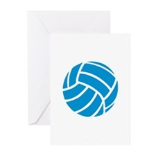 Volleyball Greeting Cards (Pk of 20)