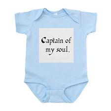 captain of my soul Infant Bodysuit