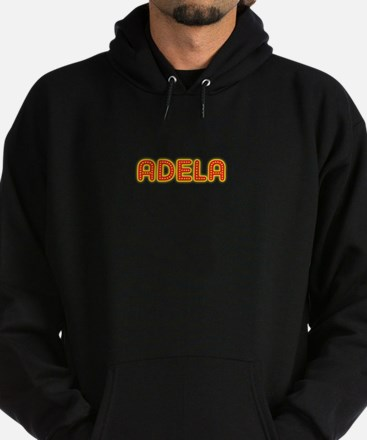 Adela in Movie Lights Hoodie (dark)