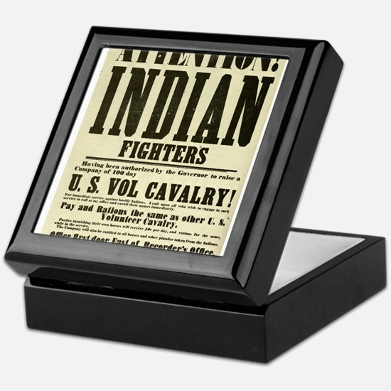 Indian Fighters Keepsake Box