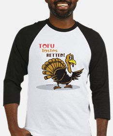 Tofu Not Turkey Baseball Jersey