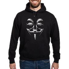 Guy Fawkes Mask Hoodie