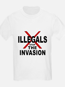 IllegalsX D18 mx1 Kids T-Shirt