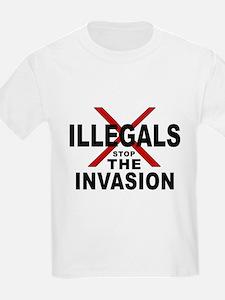 IllegalsX D18 mx2 Kids T-Shirt