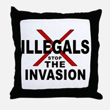 IllegalsX D18 mx2 Throw Pillow