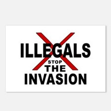 IllegalsX D18 mx2 Postcards (Package of 8)
