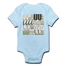 uu-typography-sage Body Suit
