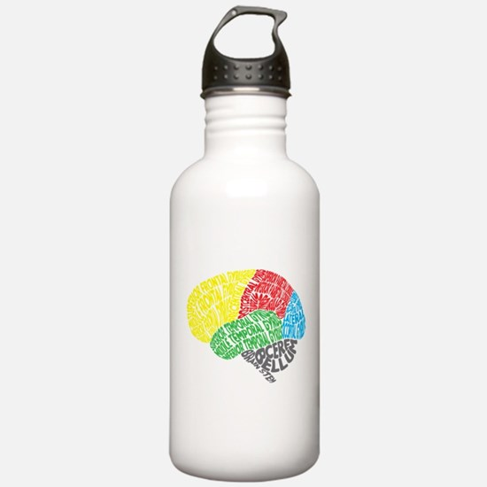 Your Brain (Anatomy) on Words Sports Water Bottle