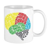Brain Small Mugs (11 oz)