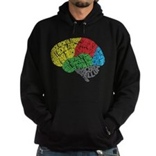 Your Brain (Anatomy) on Words Hoodie