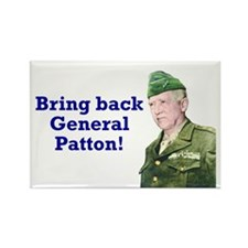 George Patton Rectangle Magnet (10 pack)