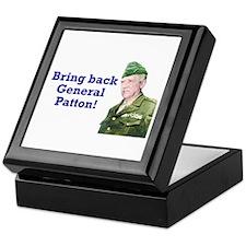 George Patton Keepsake Box