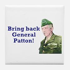 George Patton Tile Coaster
