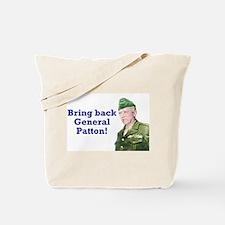 George Patton Tote Bag