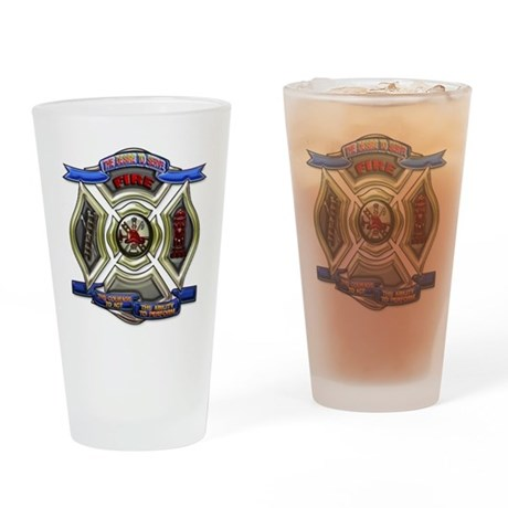 Fire Desire, Courage, Ability Drinking Glass