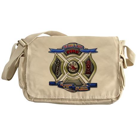 Fire Desire, Courage, Ability Messenger Bag