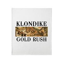 ABH Klondike Gold Rush Throw Blanket
