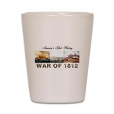 War of 1812 Shot Glass