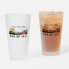 War of 1812 Drinking Glass
