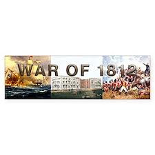 War of 1812 Car Sticker