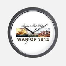 War of 1812 Wall Clock