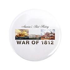 """War of 1812 3.5"""" Button"""