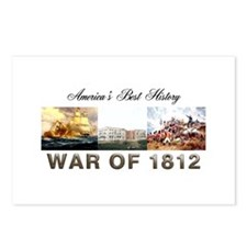 War of 1812 Postcards (Package of 8)