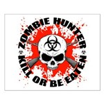 Zombie Hunter 1 Small Poster