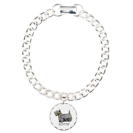 Scottie Charm Bracelet, One Charm