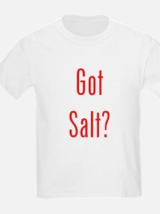 Got Salt? Red T-Shirt