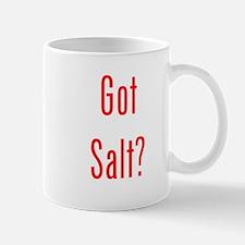 Got Salt? Red Mug