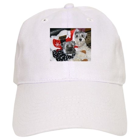 Schnauzer Christmas Holiday Cap