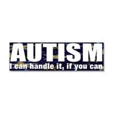 Autism, I can handle Car Magnet 10 x 3