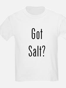 Got Salt? Black T-Shirt