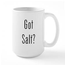 Got Salt? Black Mug