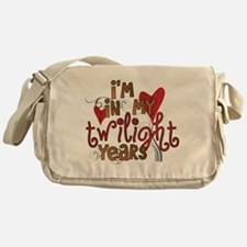 Funny Twilight Years Messenger Bag
