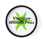 Whirled Peas Wall Clock