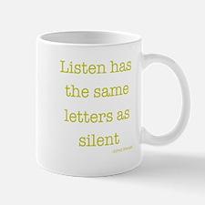 Silent/Listen Mug