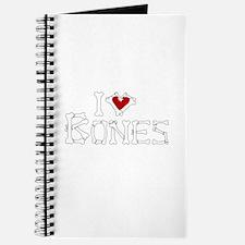 I Love Bones Journal