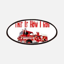 How I Roll- Fire Truck Patches