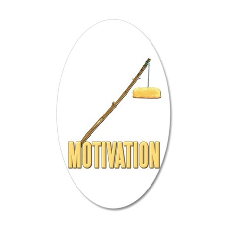 Motivation Twinkie 22x14 Oval Wall Peel